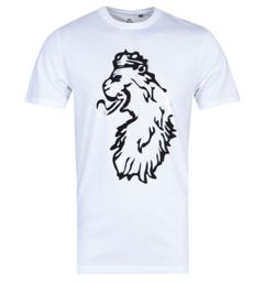 Luke 1977 Flock You Pewter Print White T-Shirt