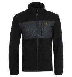Luke 1977 Flylon Black Funnel Neck Fleece