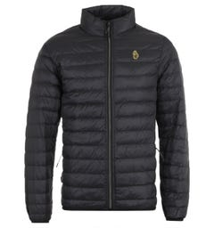Luke 1977 East Weight Black Quilted Jacket