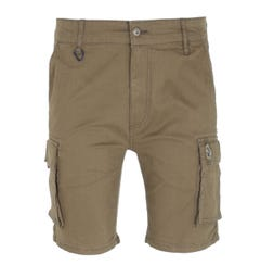 Luke 1977 Club Future Khaki Cargo Shorts