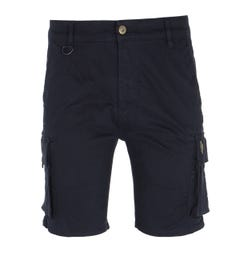 Luke 1977 Club Future Navy Cargo Shorts