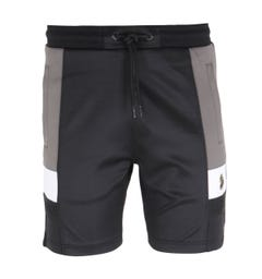 Luke 1977 Hod Colour Block Sweat Shorts - Black