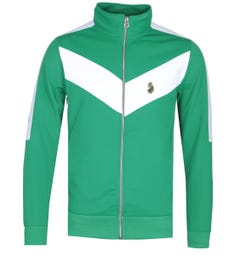 Luke 1977 Spanish Tony Funnel Neck Green Track Jacket