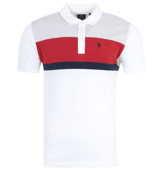 Luke 1977 Scott Haywood Dot Polo Shirt - White