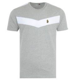 Luke 1977 Calvia Chevron T-Shirt - Grey