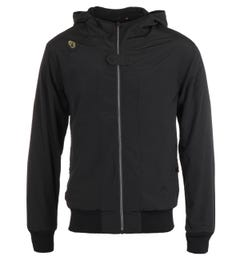 Luke 1977 Sports Twitcher Black Hooded Jacket