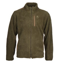 Luke 1977 Khaki Bear Thrills Zip Through Fleece