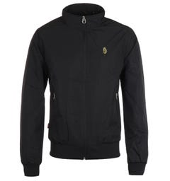 Luke 1977 Double Diamond Black Funnel Neck Jacket