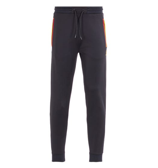 Luke 1977 Club Nautico Black Joggers