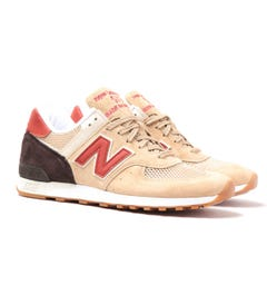 New Balance Made In England M576 Sand Suede Trainers