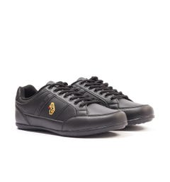 Luke 1977 Joshua Low Top Trainers - Black