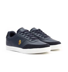Luke 1977 Wells Low Top Trainers - Navy