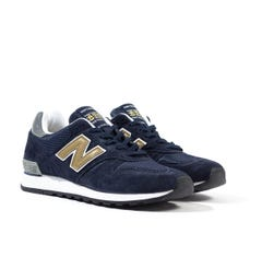 New Balance 670 Made In England Navy Trainers