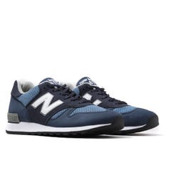 New Balance 670 Made In England Navy & Ocean Blue Trainers
