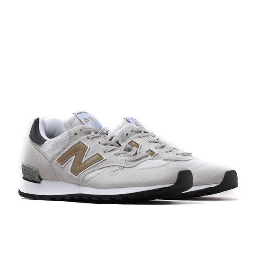 New Balance 670 Made In England Grey & White Trainers