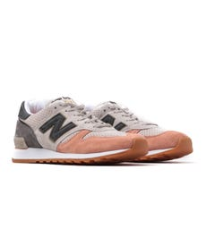New Balance 670 Made In England Beige, Grey & Burnt Orange Trainers
