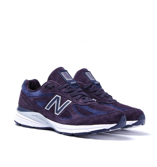 New Balance M990 Made In The USA Purple Trainers
