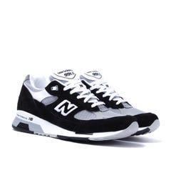 New Balance M991 Made In England Black & Grey Suede Trainers