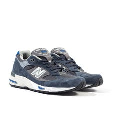 New Balance 991 Made In England Blue Trainers