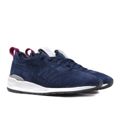 New Balance M997 Made In USA Navy Suede Trainers