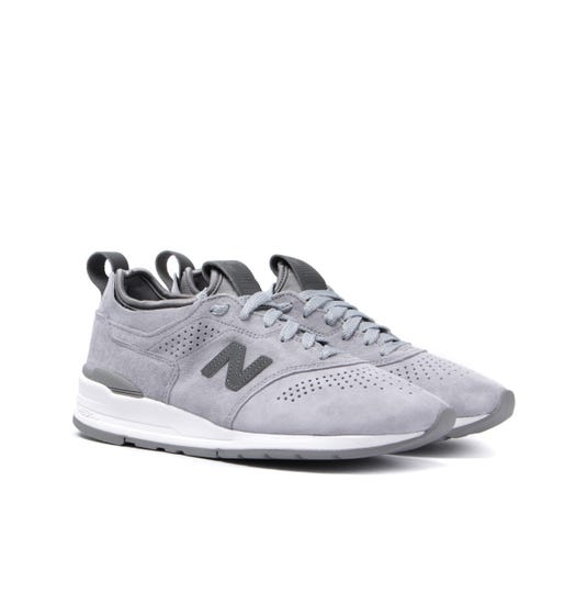 New Balance 997 Made in the USA Pewter Grey Suede Trainers