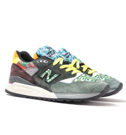 New Balance Made in USA 998 Festival Pack Suede Trainers