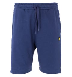 Lyle & Scott Side Panel Sweat Shorts - Navy & White