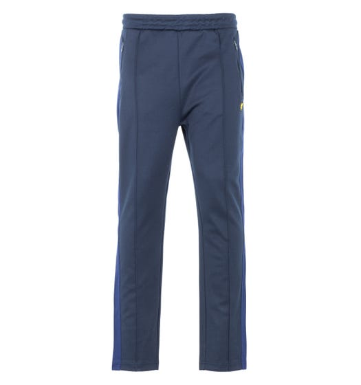 Lyle & Scott Side Stripe Tricot Joggers - Dark Navy