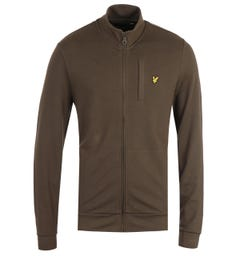 Lyle & Scott Trek Green Smart Track Sweatshirt