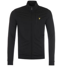 Lyle & Scott Smart Track Sweatshirt - Jet Black