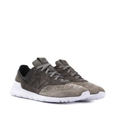 New Balance ML 1978 Khaki Suede Vibram Sole Trainers
