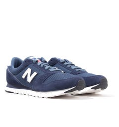 New Balance 311v2 Suede Trainers - Natural Indigo with Stone Blue