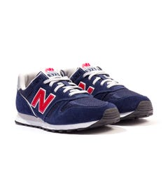 New Balance 373v2 Suede & Mesh Trainers - Navy