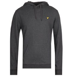 Lyle & Scott Pullover Charcoal Marl Hoodie