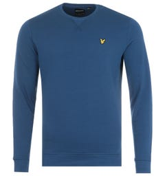 Lyle & Scott Crew Neck Sweatshirt - Indigo