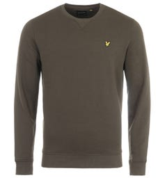 Lyle & Scott Crew Neck Sweatshirt - Trek Green