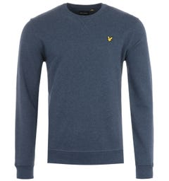 Lyle & Scott Crew Neck Sweatshirt - Navy Marl