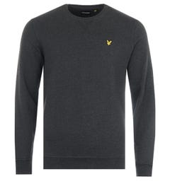 Lyle & Scott Crew Neck Sweatshirt - True Black Marl