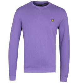 Lyle & Scott Violet Crew Neck Sweatshirt