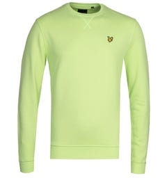 Lyle & Scott Sharp Green Crew Neck Sweatshirt
