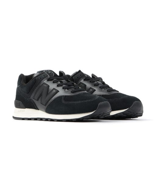 New Balance 574 'Chinese New Year' Suede Trainers - Black