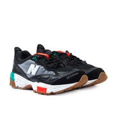 New Balance 801 Black & Grey Trainers