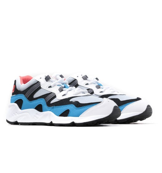 New Balance 850 White & Blue Lightweight Performance Trainers