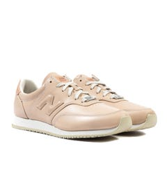 New Balance MLC100 Nude Leather Trainers