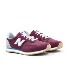 New Balance MLC100 NB Burgundy with Wax Blue Trainers
