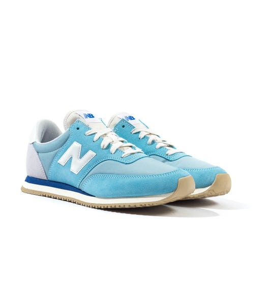 New Balance MLC100 Blue Suede Trainers