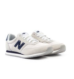 New Balance MLC100 Grey & Navy Suede Trainers