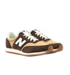 New Balance MLC100 Brown Suede Trainers