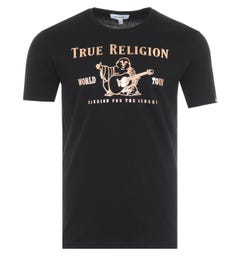 True Religion Chad Core T-Shirt - Black