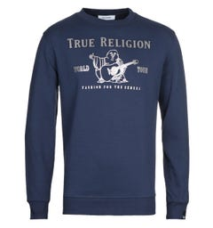 True Religion Chad Core Sweatshirt - Navy